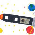Raumschiffreise unserer Jüngsten