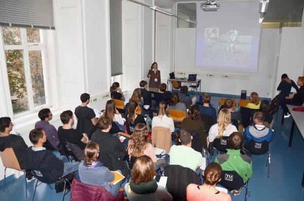 Der Workshop mit Bonnie Dunbar. Foto: HB2 / TU Wien