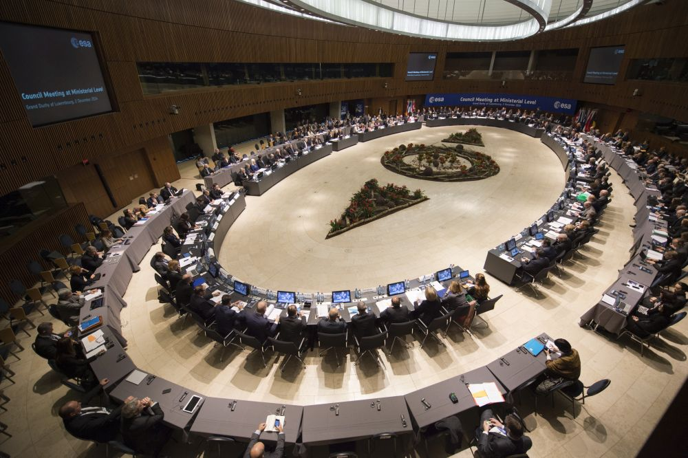 ESA's Council Meeting at Ministerial Level: Defining Europe's future in space