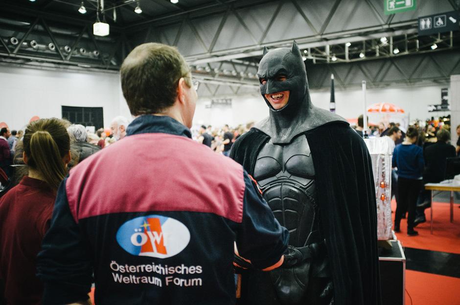 ÖWF trift auf Batman bei #VIECC (c) ÖWF (Florian Voggender)