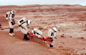 First Aid on Mars