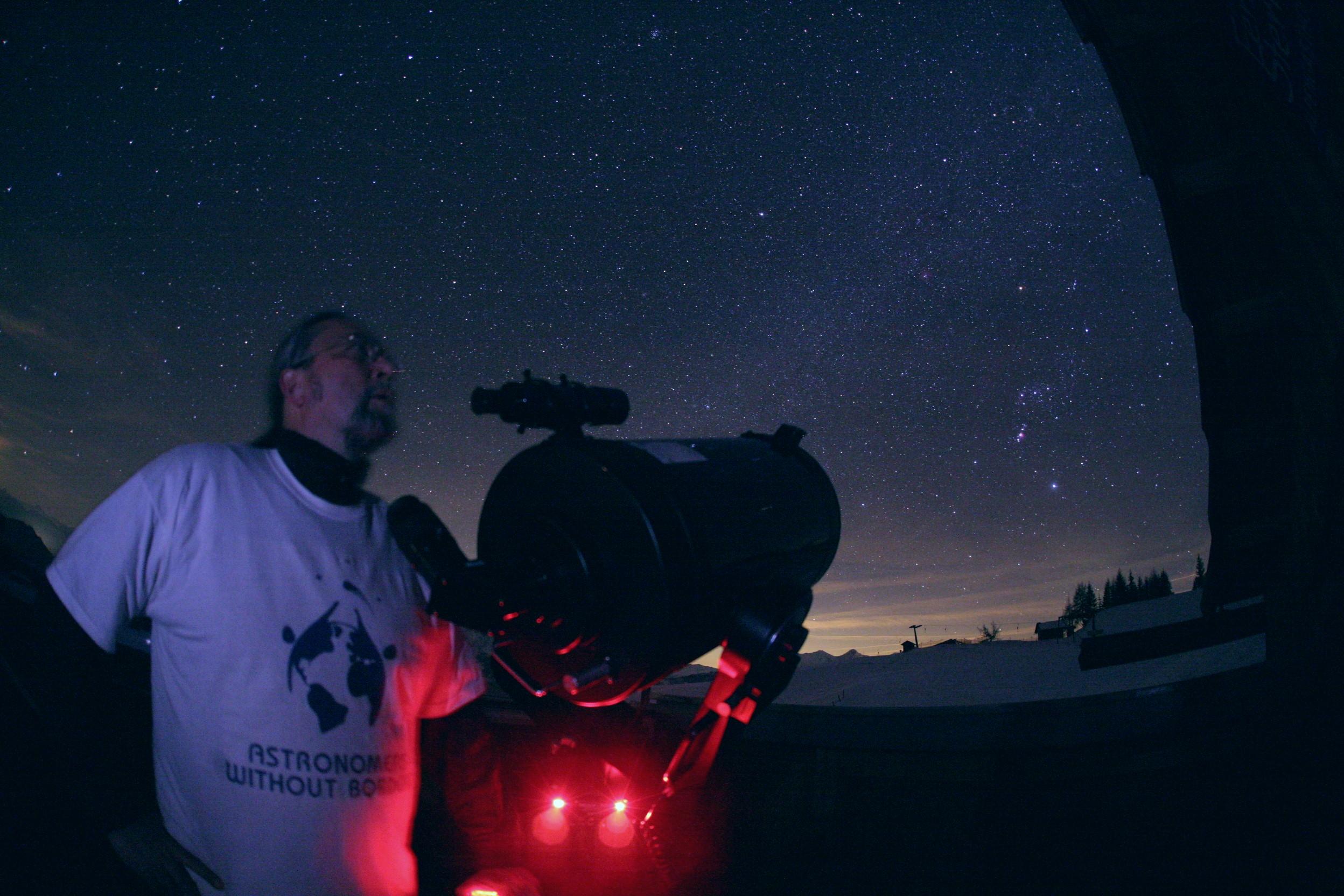 Astronom Johannes Stübler erhält den Polarsternpreis 2017