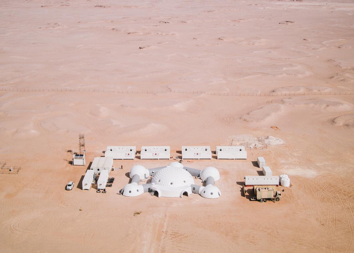 Aerial Base Camp (c) OeWF (Florian Voggeneder)