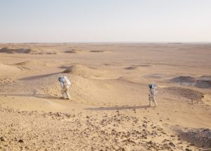 Analog Astronauts on EVA. (c) OeWF (Florian Voggeneder)