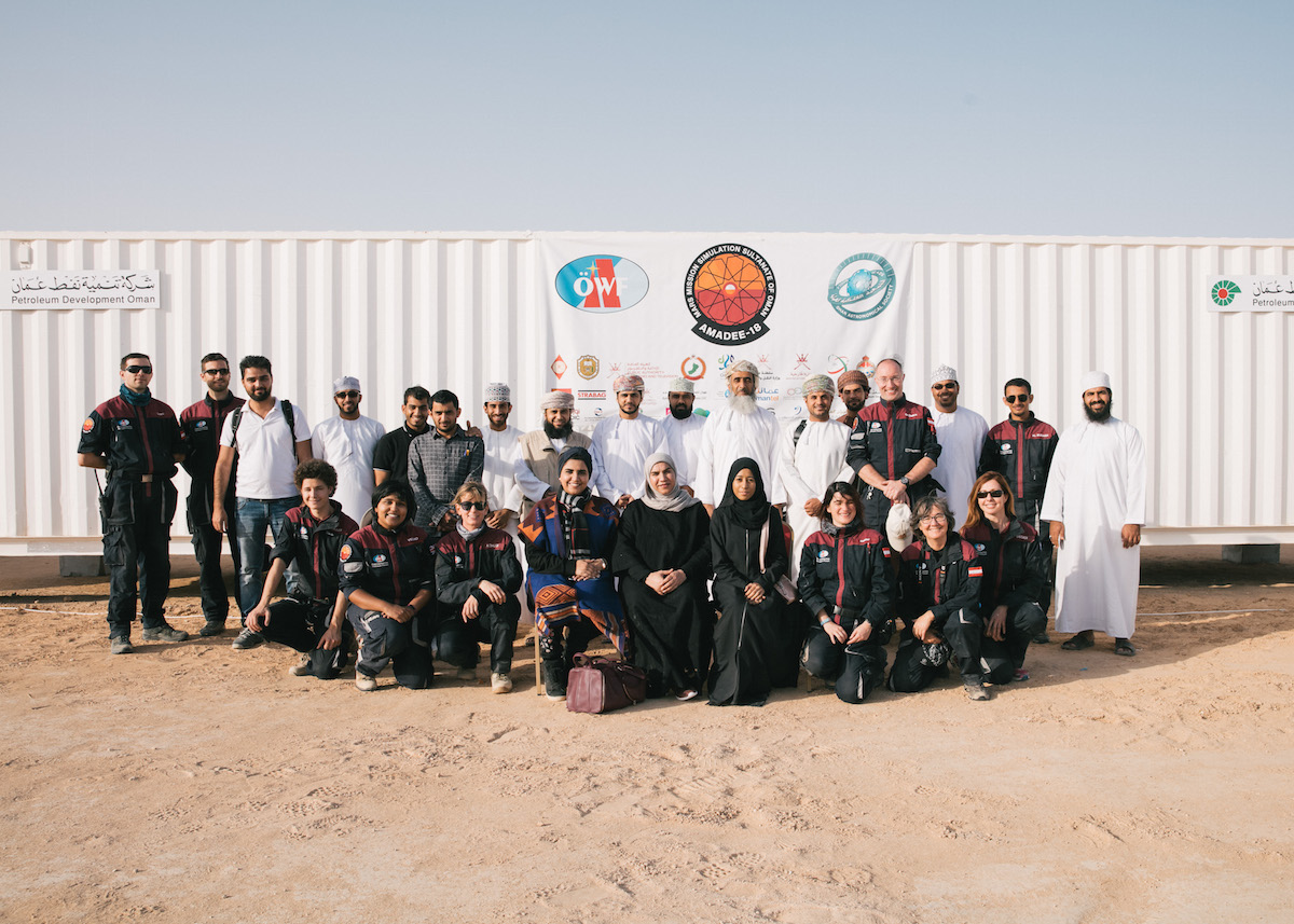 Omani Astronomical Society visit