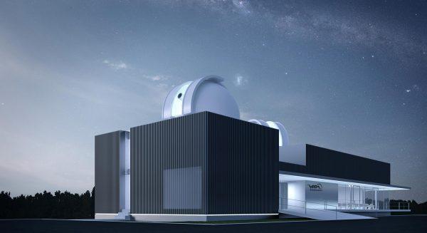 Visualisierung der Salzburger Sternwarte