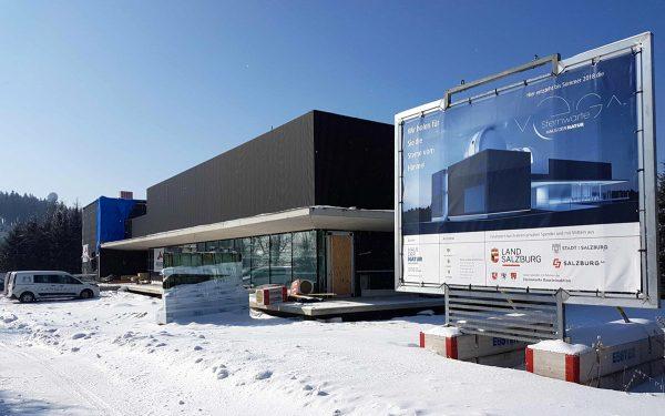 Salzburger Sternwarte im Bau