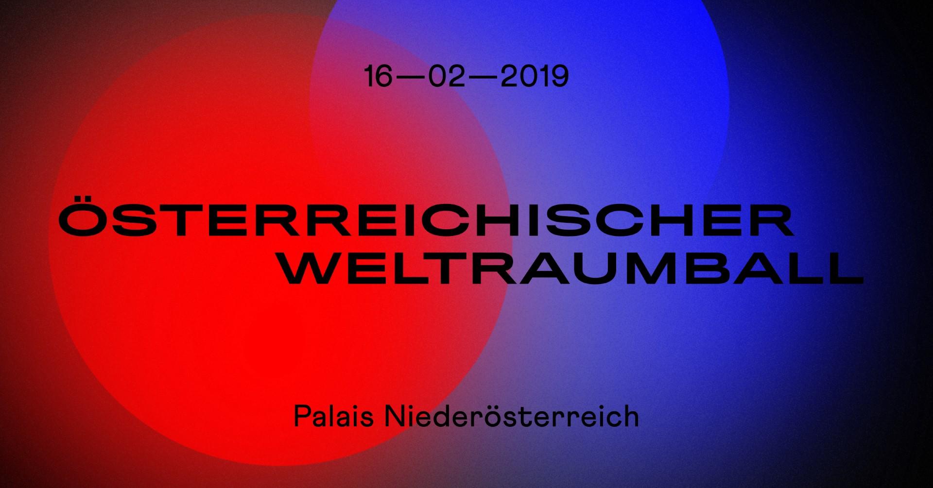 Österreichischer Weltraumball am 16. Februar in Wien