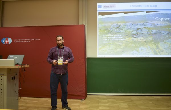 Eren Allak (Alpen-Adria Univ. Klagenfurt) from the AVI-NAV experiment
