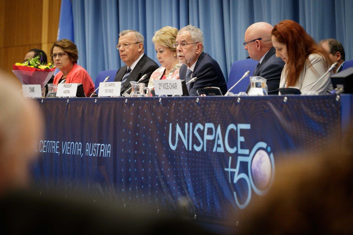 UNISPACE+50: Das Jubiläum der ersten UN-Weltraumkonferenz