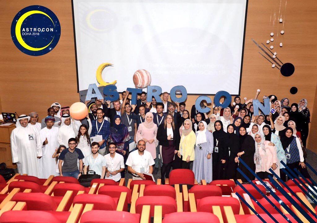 Space meets Qatar: Talking AMADEE-18 at AstroCon