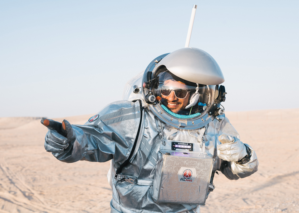Interview with analog astronaut Kartik Kumar