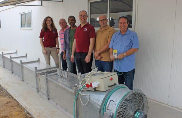 OeWF delegation visits SANDEE experiment