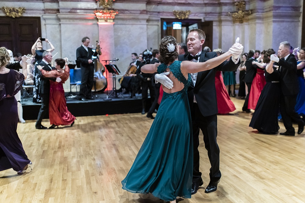 The Austrian Weltraumball 2019: Dancing with the stars