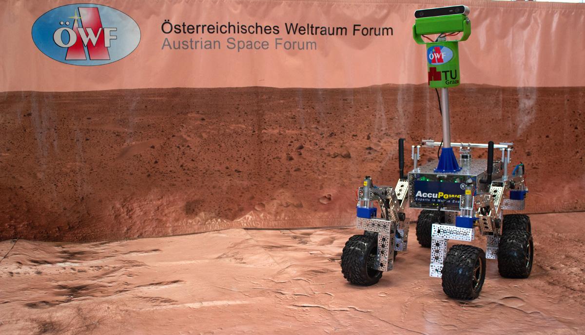 Beetle – ein gemeinsames Rover-Projekt der TU Graz & des ÖWF