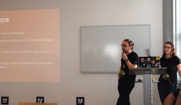 Endpräsentation an der TU Graz (c) Florian Ennemoser