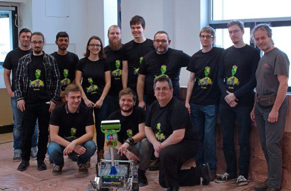 Das Beetle Team (c) Florian Ennemoser