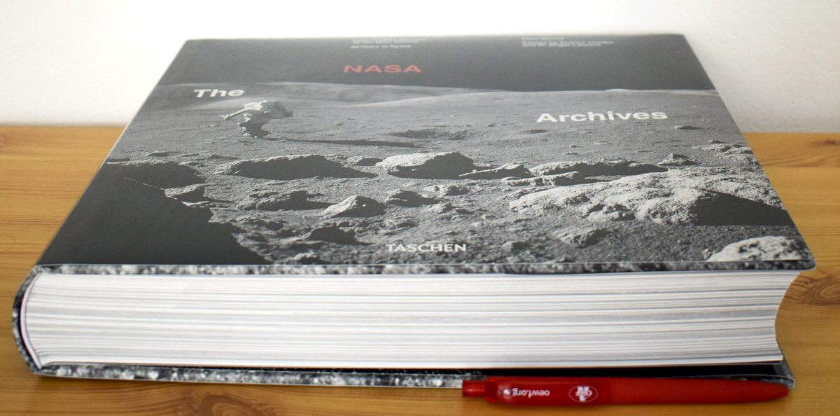 Book review : The NASA Archives: 60 Years in Space