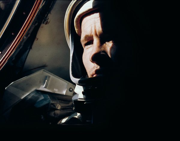 Astronaut Ed White photographed by Gemini 4 commander Jim McDivitt (c) NASA