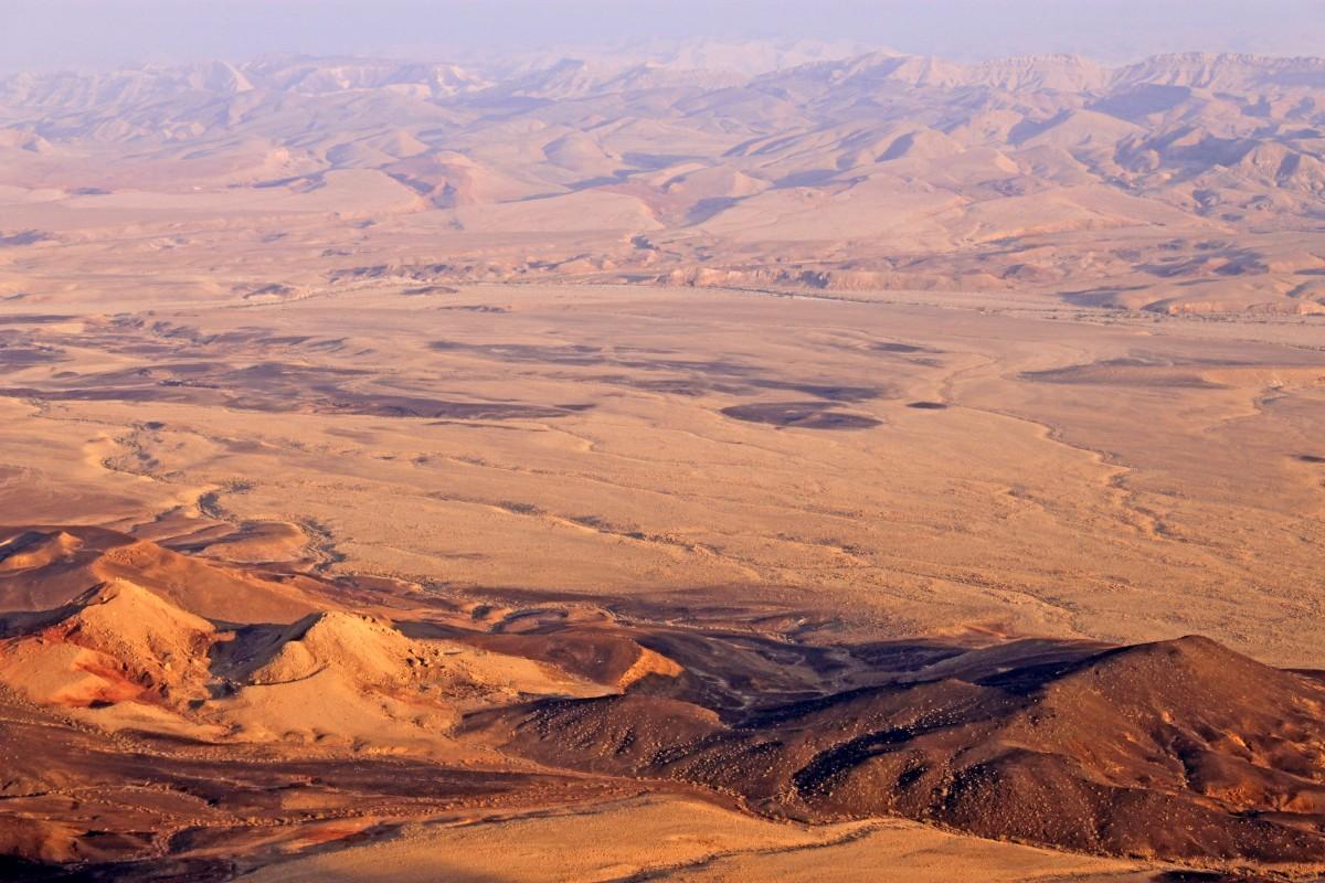 Ramon Crater, Negev Desert, Israel