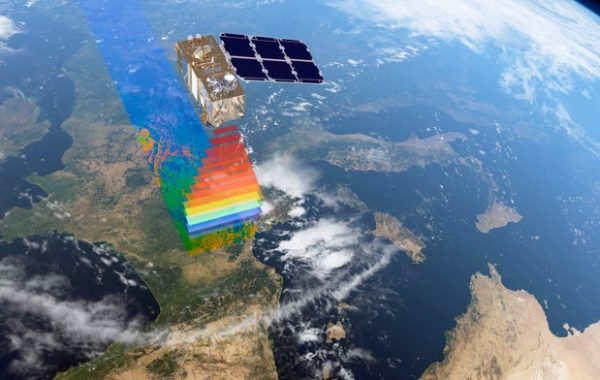 Sentinel-2-Satellite: (c) ESA/ATG medialab