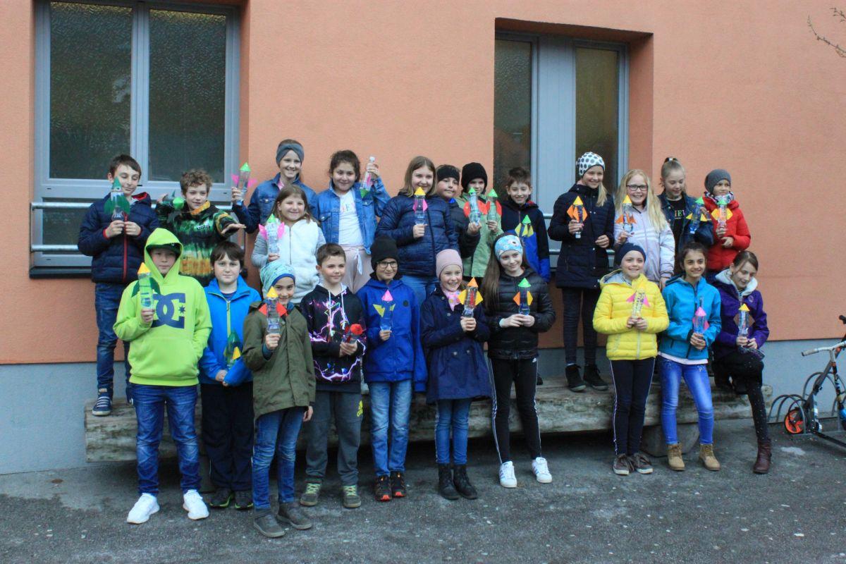 ÖWF-Wasserraketenworkshop an der Volkschule Zirl
