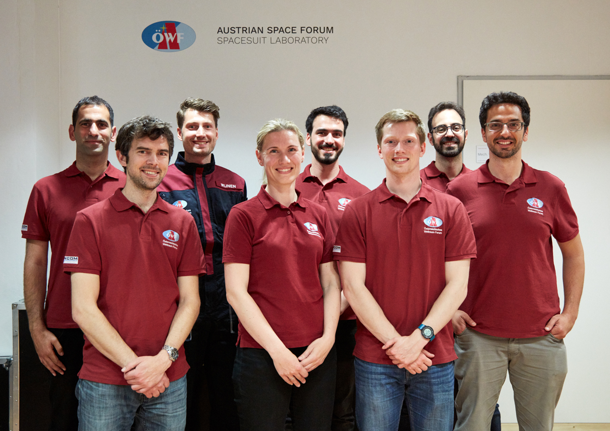 Austrian Space Forum selects eight new Analog Astronauts