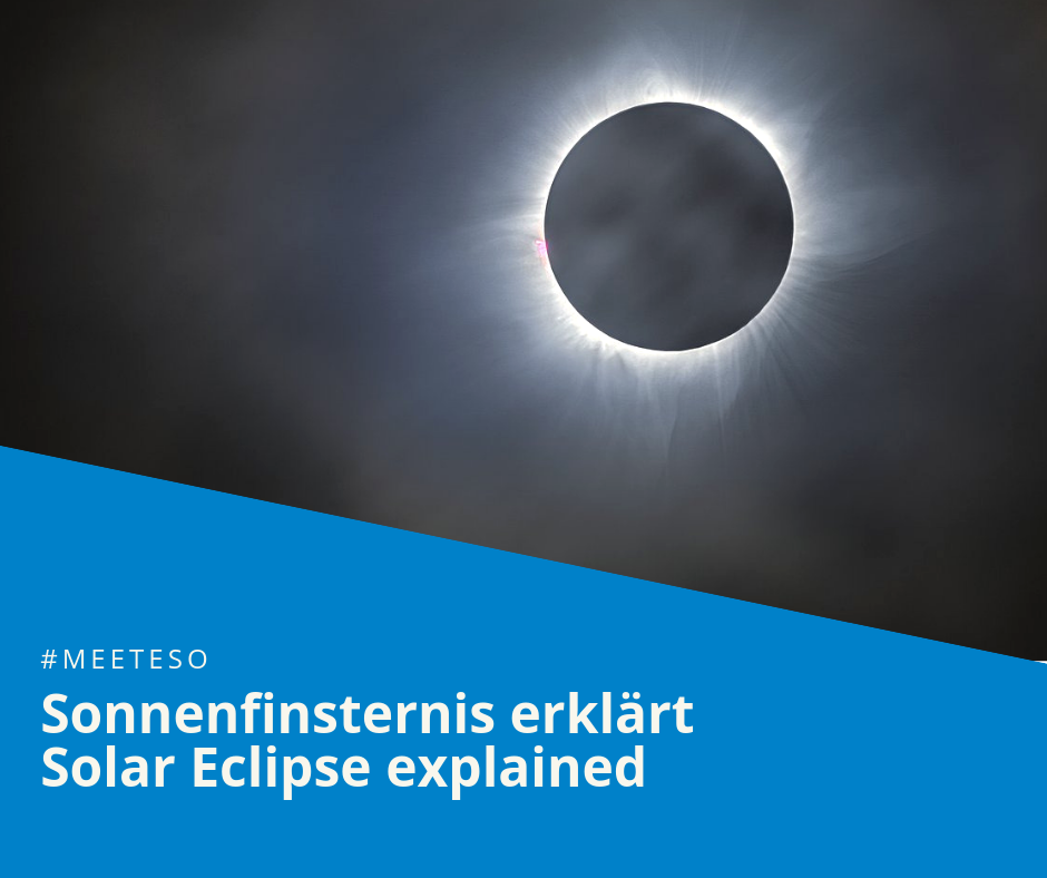 #MeetESO – how does a solar eclipse occur?