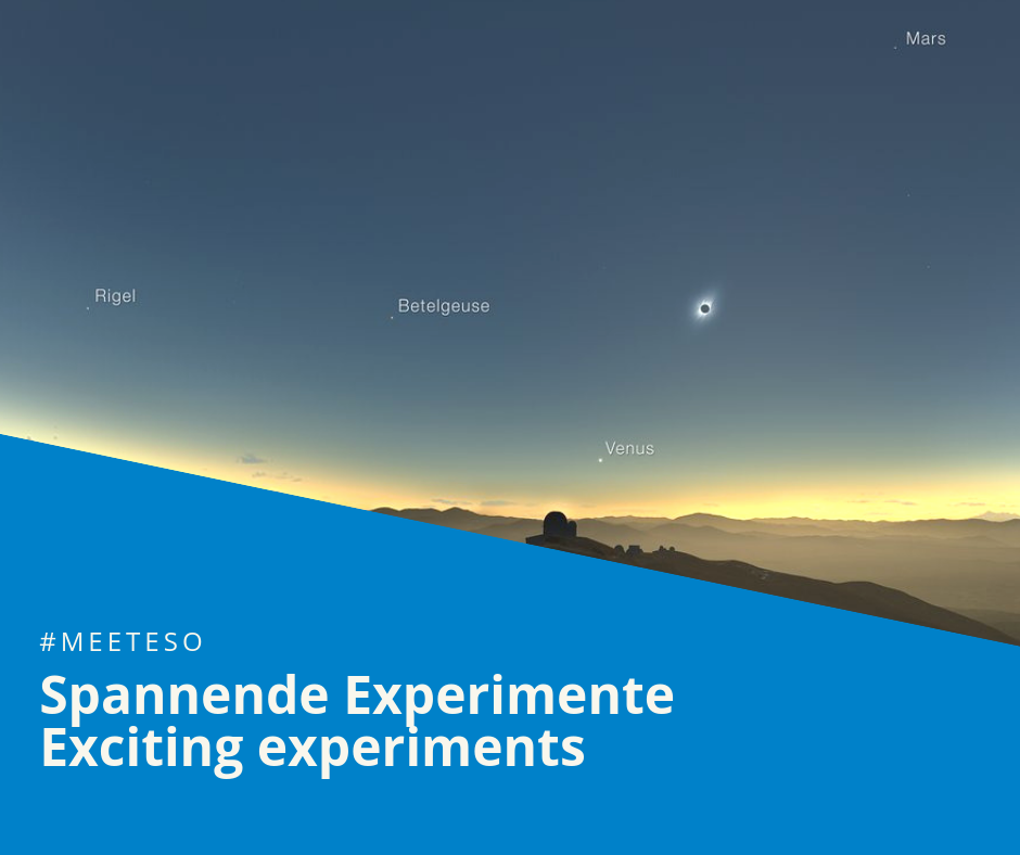 #MeetESO – Einstein, relativity & exciting experiments