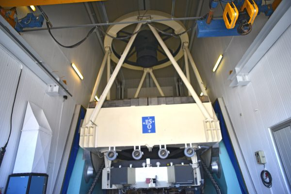 The New Technology Telescope (NTT). (c) OeWF (Olivia Haider)