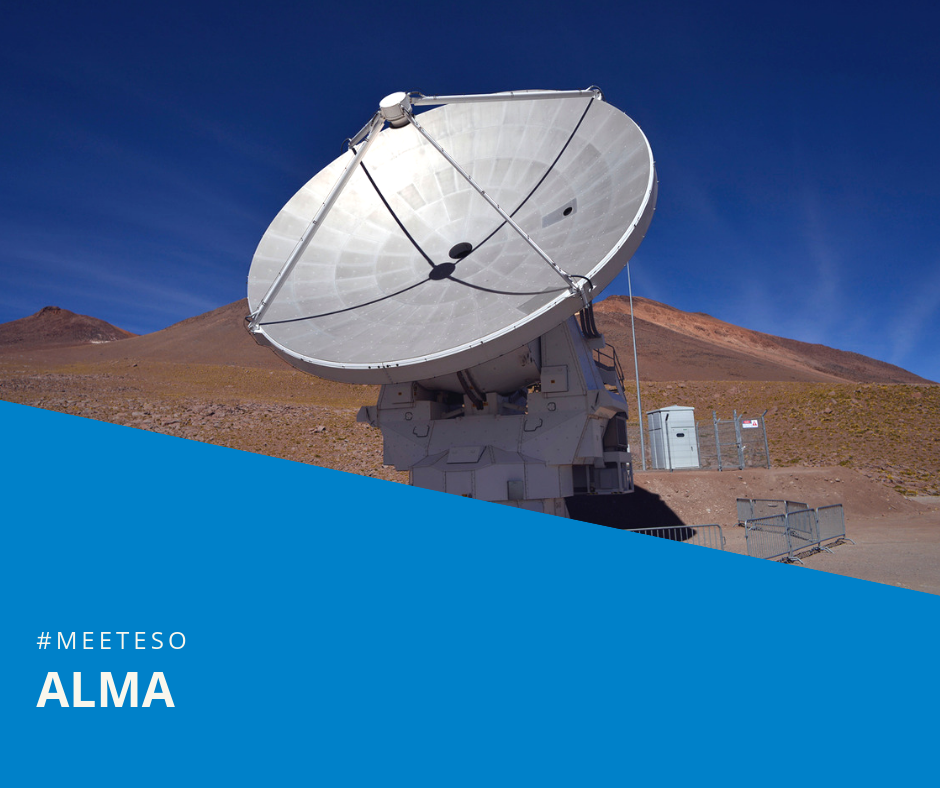 ALMA – ground-breaking science in high altitudes