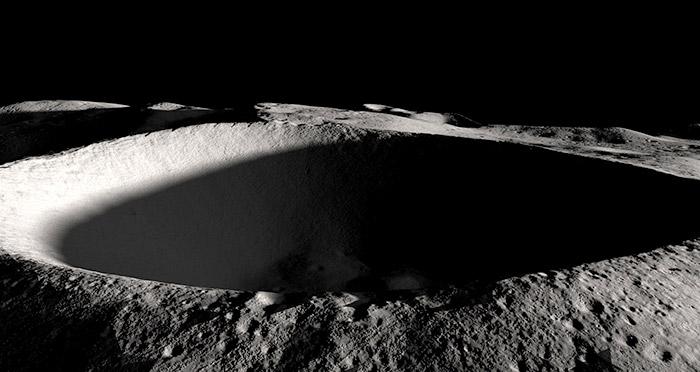 Vom Mond und Wasser