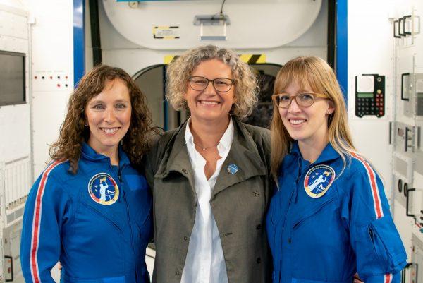 Suzanna Randall, Claudia Kessler, Insa Thiele-Eich (c) Die Astronautin