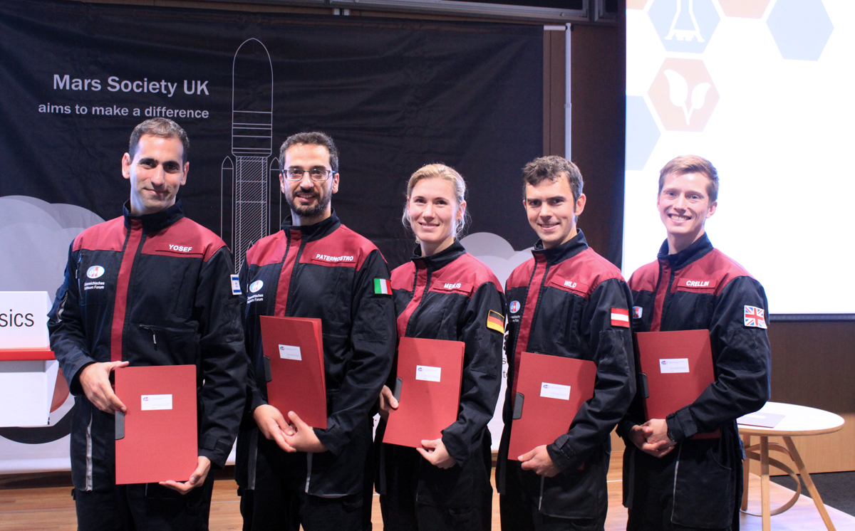 Austrian Space Forum´s new Analog Astronauts graduate in London
