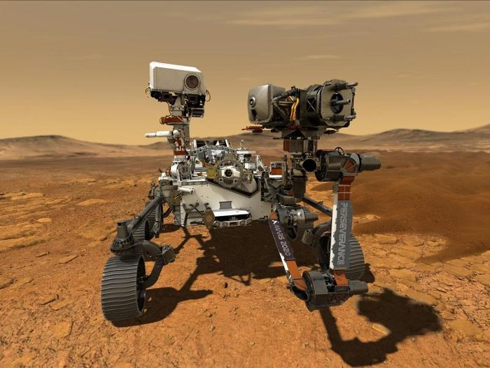 Mars 2020-Mission der NASA