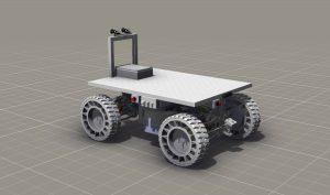 Exoscot rover rendering (c) TU Graz