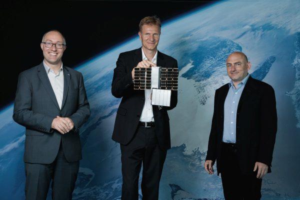 Gernot Grömer/ÖWF, Christian Federspiel/Findus Venture GmbH, Peter Platzer/Spire Global (c) ÖWF/vog.photo