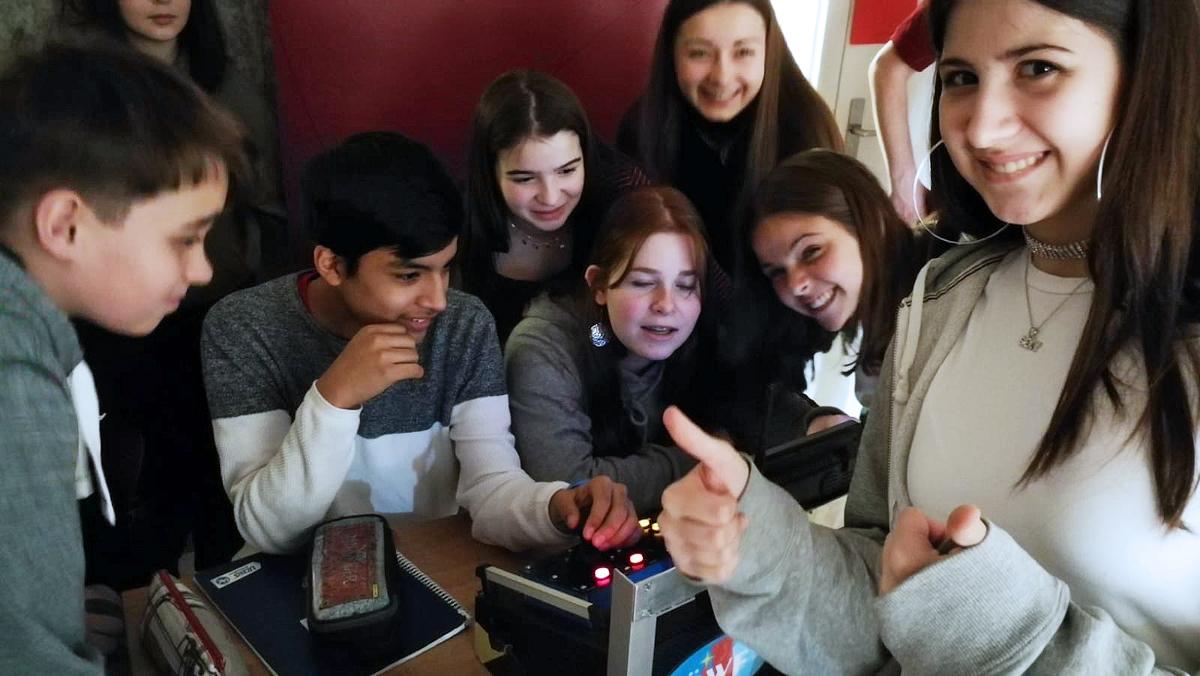 School visit at the Graz International Bilingual School