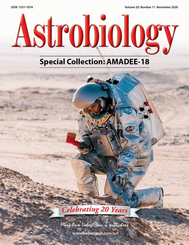 Astrobiology Special Edition on AMADEE-18