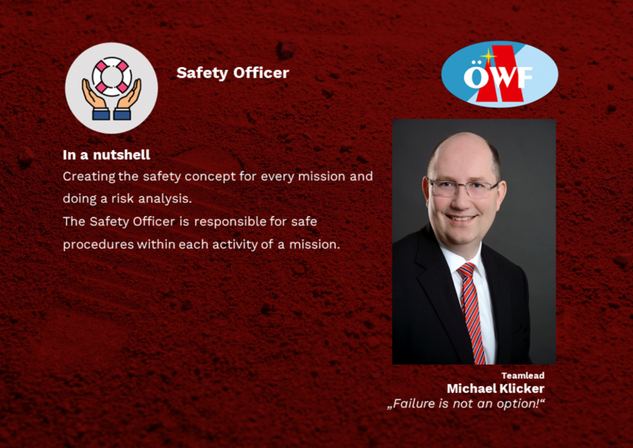 Our Safety Officer gives an insight into his work