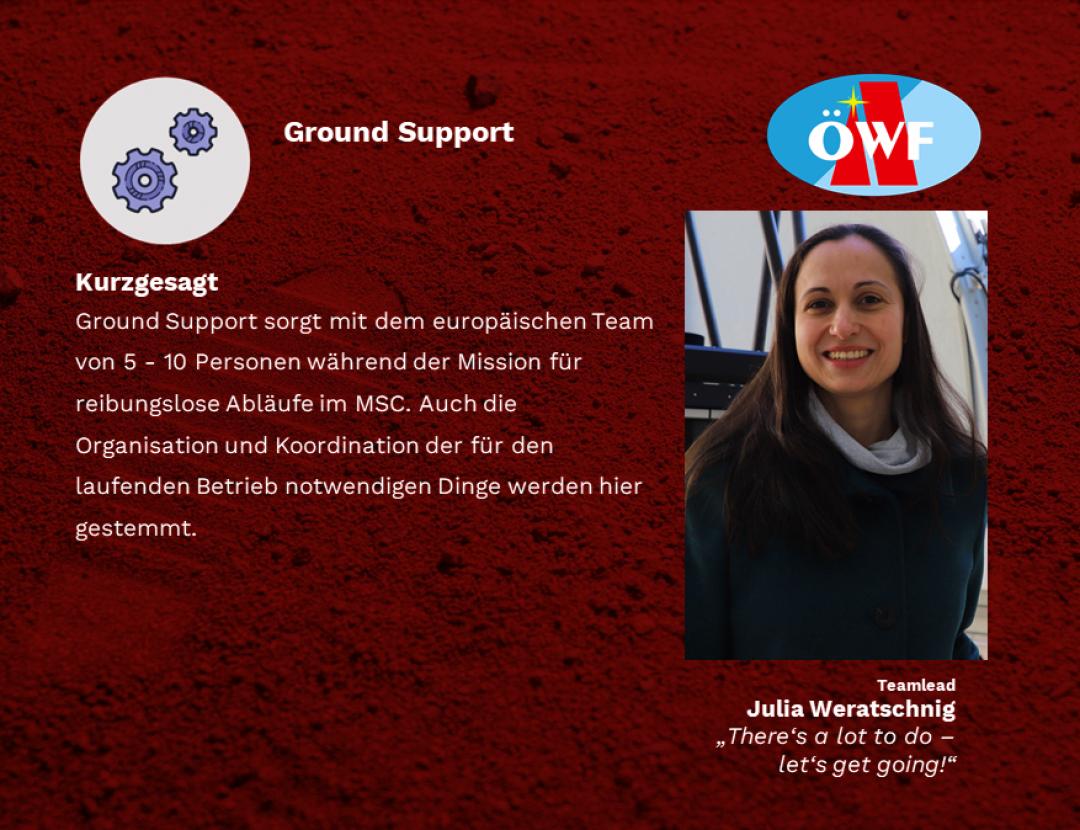 Ground Support – Es gibt viel zu tun, fangen wir an!