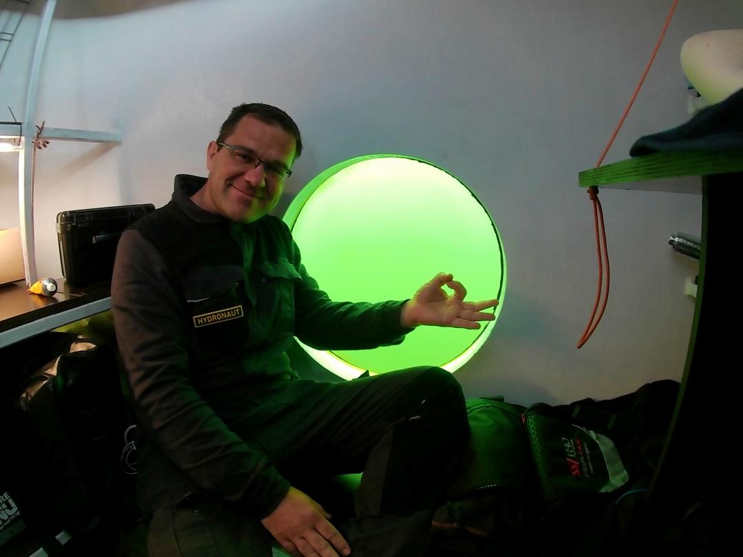 """Science On Board"": Space Research Begins Underwater"