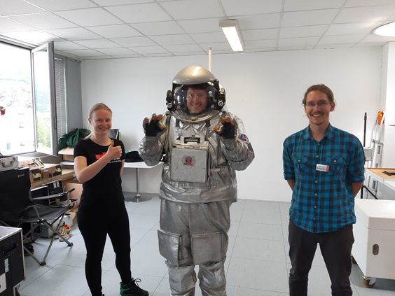 Master's thesis 2021 – Tools for geotechnical investigation on Mars