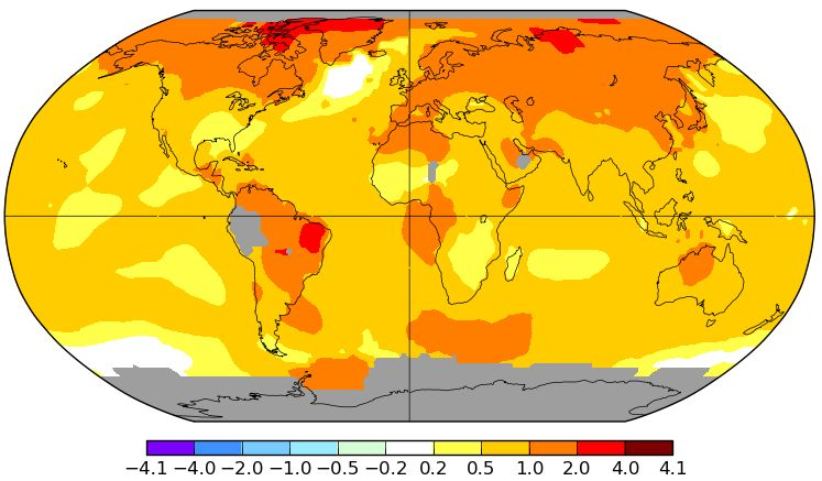 Waldbrände und Klimawandel – Satellitenfernerkundung