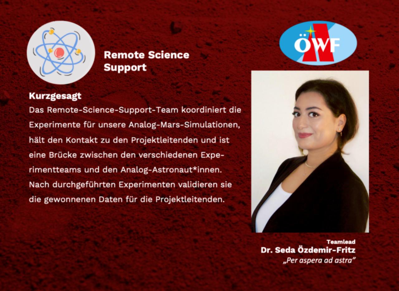 Remote Science Support – eines unserer größten Teams