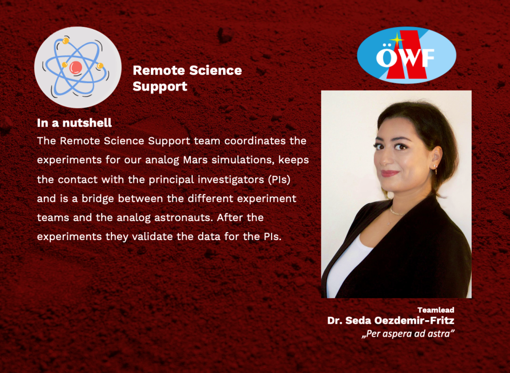 Remote Science Support – one of our largest teams