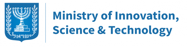 Logo of Ministry of Innovation, Science & Technology in Israel